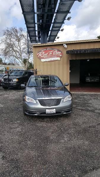 2012 Chrysler 200 Touring 4dr Sedan - Modesto CA