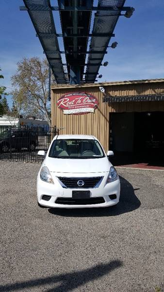 2012 Nissan Versa 1.6 S 4dr Sedan CVT - Modesto CA