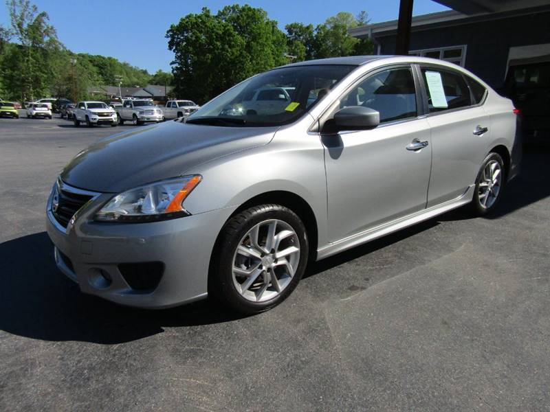 2014 Nissan Sentra for sale at Specialty Car Company in North Wilkesboro NC