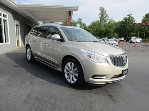 2014 Buick Enclave for sale at Specialty Car Company in North Wilkesboro NC