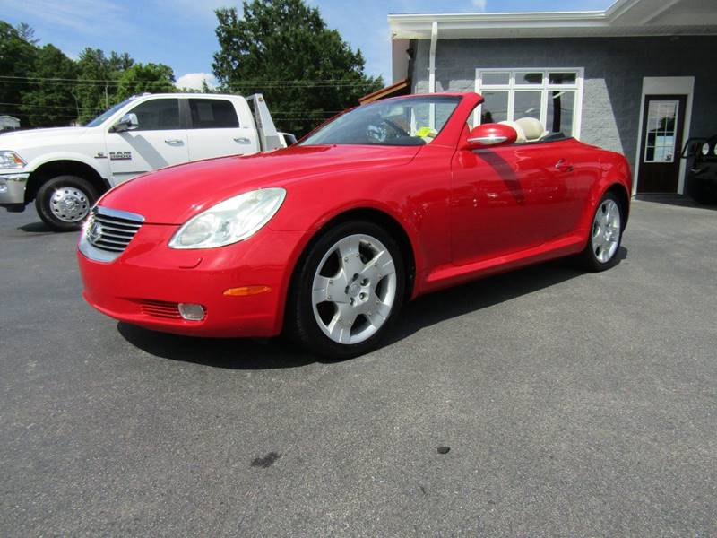2002 Lexus SC 430 for sale at Specialty Car Company in North Wilkesboro NC