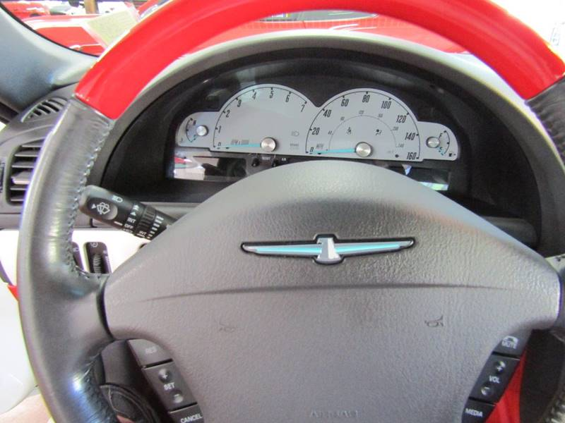 2002 Ford Thunderbird for sale at Specialty Car Company in North Wilkesboro NC