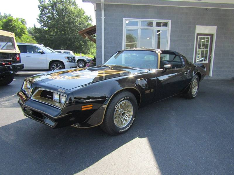 1977 Pontiac Firebird Trans Am for sale at Specialty Car Company in North Wilkesboro NC