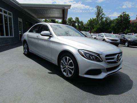 2015 Mercedes-Benz C-Class for sale at Specialty Car Company in North Wilkesboro NC