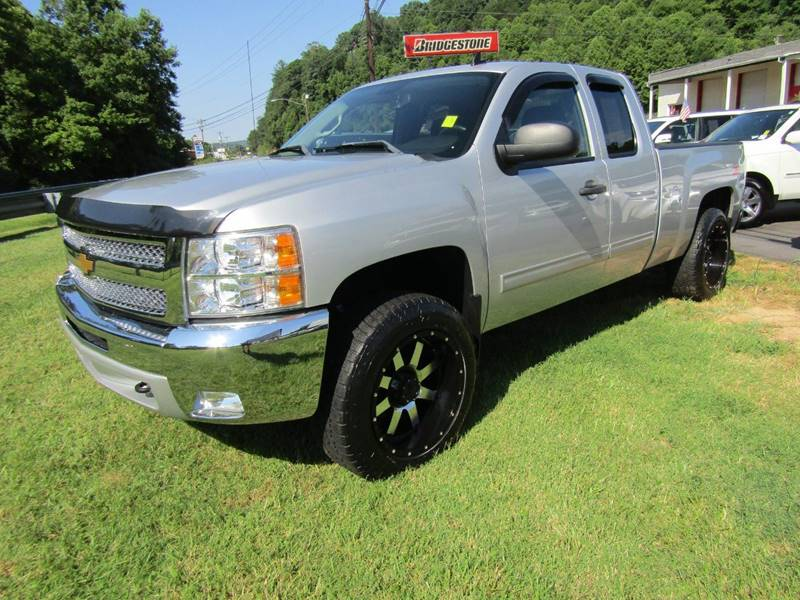 2012 Chevrolet Silverado 1500 for sale at Specialty Car Company in North Wilkesboro NC