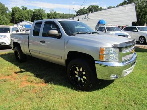 2012 Chevrolet Silverado 1500 for sale at Specialty Car Company in North Wilkesboro NC