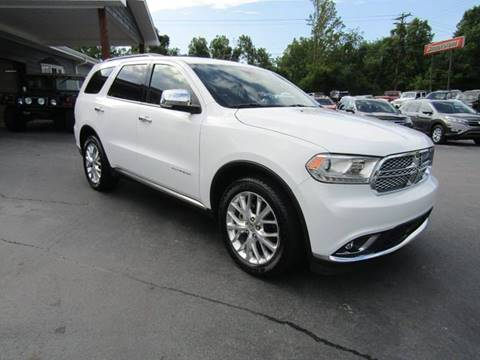 2014 Dodge Durango for sale at Specialty Car Company in North Wilkesboro NC