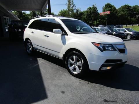 2011 Acura MDX for sale at Specialty Car Company in North Wilkesboro NC