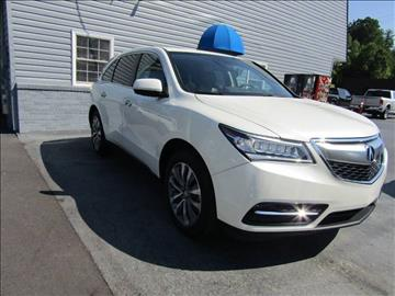 2015 Acura MDX for sale at Specialty Car Company in North Wilkesboro NC