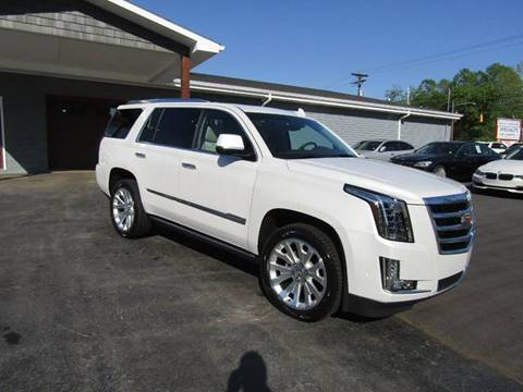 2017 Cadillac Escalade for sale at Specialty Car Company in North Wilkesboro NC
