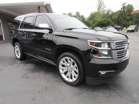 2016 Chevrolet Tahoe for sale at Specialty Car Company in North Wilkesboro NC
