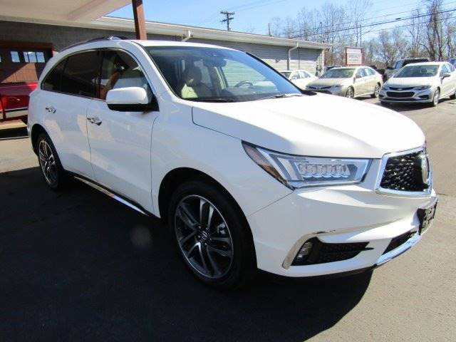 2017 Acura MDX for sale at Specialty Car Company in North Wilkesboro NC