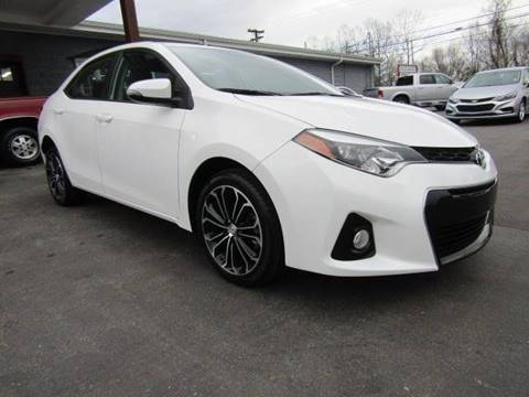 2015 Toyota Corolla for sale at Specialty Car Company in North Wilkesboro NC