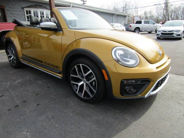2017 Volkswagen Beetle for sale at Specialty Car Company in North Wilkesboro NC