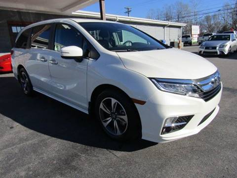 2019 Honda Odyssey for sale at Specialty Car Company in North Wilkesboro NC