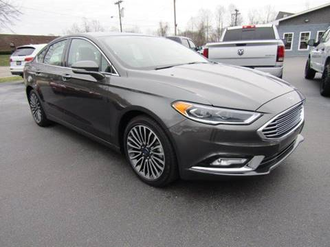 2017 Ford Fusion for sale at Specialty Car Company in North Wilkesboro NC