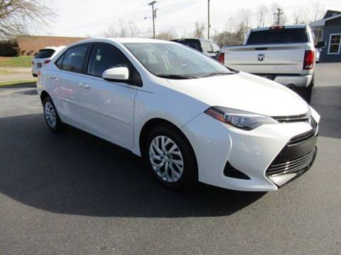 2017 Toyota Corolla for sale at Specialty Car Company in North Wilkesboro NC