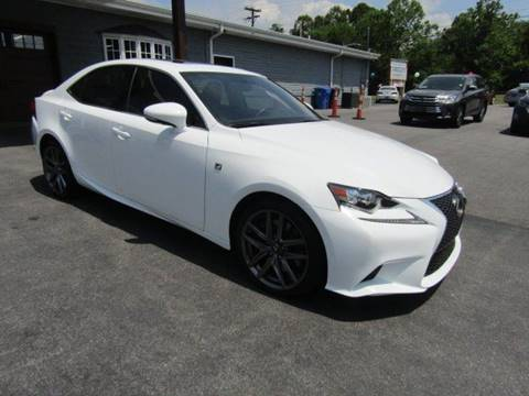 2016 Lexus IS 350 for sale at Specialty Car Company in North Wilkesboro NC
