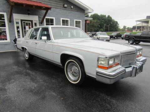 1989 Cadillac Brougham for sale at Specialty Car Company in North Wilkesboro NC