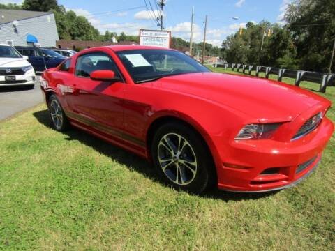 2014 Ford Mustang for sale at Specialty Car Company in North Wilkesboro NC