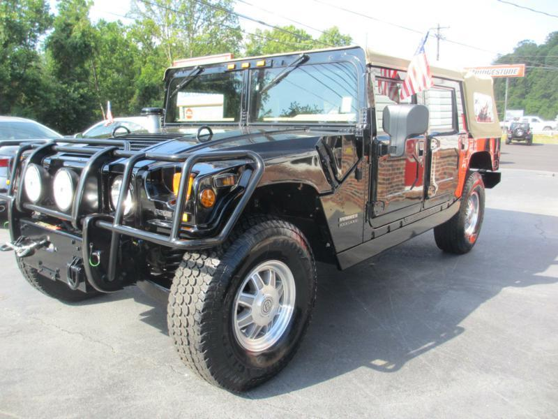 2001 HUMMER H1 for sale at Specialty Car Company in North Wilkesboro NC