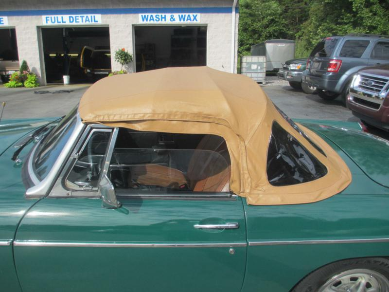 1976 MG MGB for sale at Specialty Car Company in North Wilkesboro NC