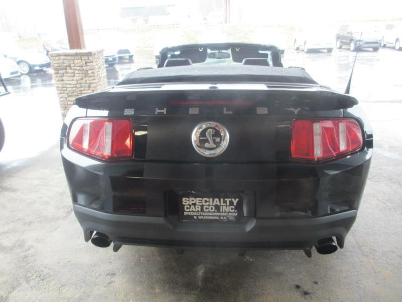 2012 Ford Shelby GT500 for sale at Specialty Car Company in North Wilkesboro NC