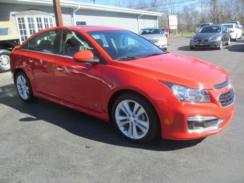 2015 Chevrolet Cruze for sale at Specialty Car Company in North Wilkesboro NC