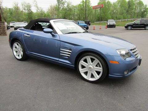 2007 Chrysler Crossfire for sale at Specialty Car Company in North Wilkesboro NC