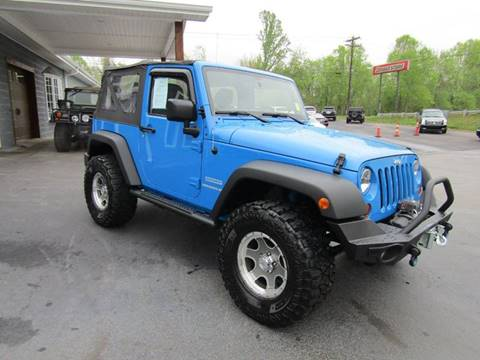 2011 Jeep Wrangler for sale at Specialty Car Company in North Wilkesboro NC