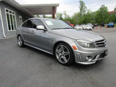 2009 Mercedes-Benz C-Class for sale at Specialty Car Company in North Wilkesboro NC