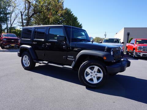 2014 Jeep Wrangler Unlimited for sale in Bristol, TN