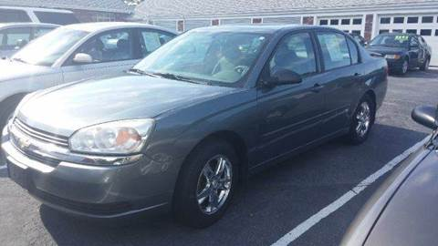 2005 Chevrolet Malibu for sale at MBM Auto Sales and Service - Lot A in East Sandwich MA