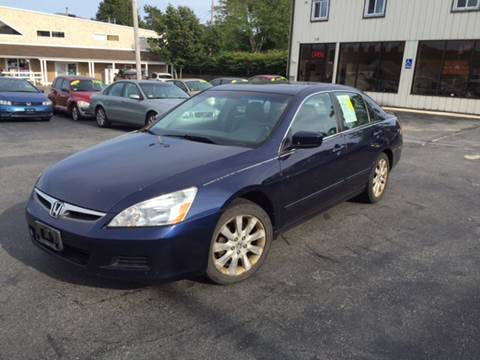 2007 Honda Accord for sale at MBM Auto Sales and Service - MBM Auto Sales/Lot B in Hyannis MA