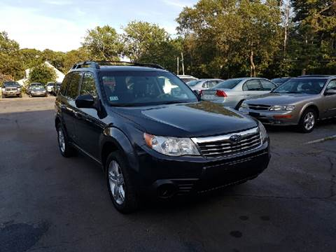 2009 Subaru Forester for sale at MBM Auto Sales and Service - Lot A in East Sandwich MA