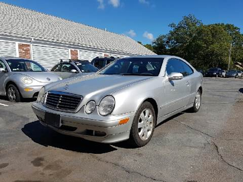 2002 Mercedes-Benz CLK for sale at MBM Auto Sales and Service - Lot A in East Sandwich MA