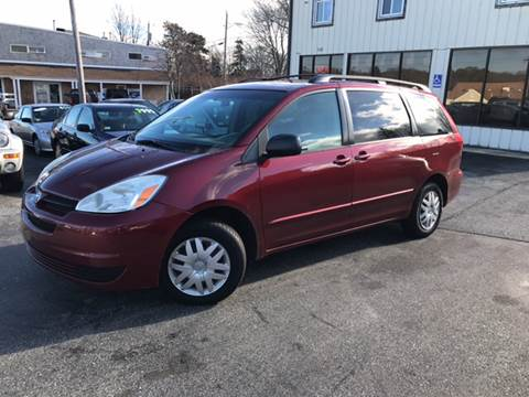 2005 Toyota Sienna for sale at MBM Auto Sales and Service - MBM Auto Sales/Lot B in Hyannis MA