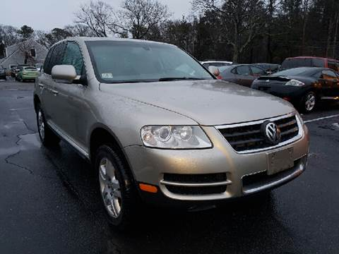 2005 Volkswagen Touareg for sale at MBM Auto Sales and Service - Lot A in East Sandwich MA