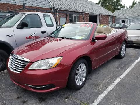 2011 Chrysler 200 Convertible for sale at MBM Auto Sales and Service - Lot A in East Sandwich MA