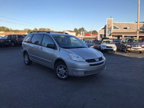 2004 Toyota Sienna for sale at MBM Auto Sales and Service - MBM Auto Sales/Lot B in Hyannis MA