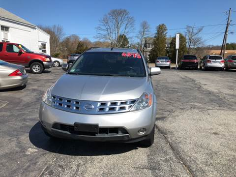 2003 Nissan Murano for sale at MBM Auto Sales and Service - MBM Auto Sales/Lot B in Hyannis MA
