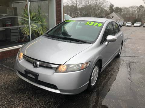 2007 Honda Civic for sale at MBM Auto Sales and Service - Lot A in East Sandwich MA