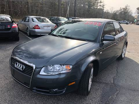 2006 Audi A4 for sale at MBM Auto Sales and Service - MBM Auto Sales/Lot B in Hyannis MA
