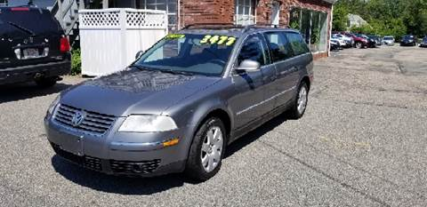 2005 Volkswagen Passat for sale at MBM Auto Sales and Service - MBM Auto Sales/Lot B in Hyannis MA