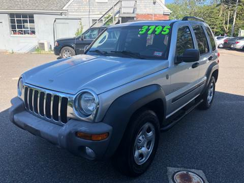 2004 Jeep Liberty for sale at MBM Auto Sales and Service - Lot A in East Sandwich MA