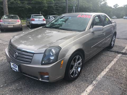 2003 Cadillac CTS for sale at MBM Auto Sales and Service - Lot A in East Sandwich MA