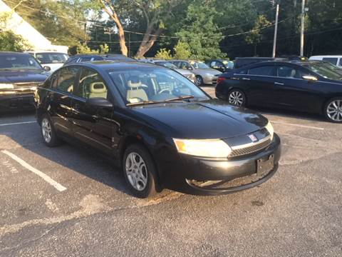2003 Saturn Ion for sale at MBM Auto Sales and Service - Lot A in East Sandwich MA
