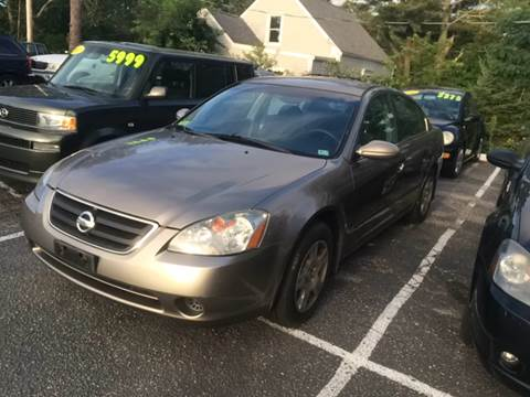 2004 Nissan Altima for sale at MBM Auto Sales and Service - Lot A in East Sandwich MA