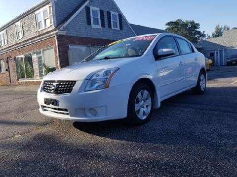 2009 Nissan Sentra for sale at MBM Auto Sales and Service - MBM Auto Sales/Lot B in Hyannis MA