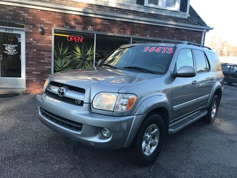 2005 Toyota Sequoia for sale at MBM Auto Sales and Service - Lot A in East Sandwich MA